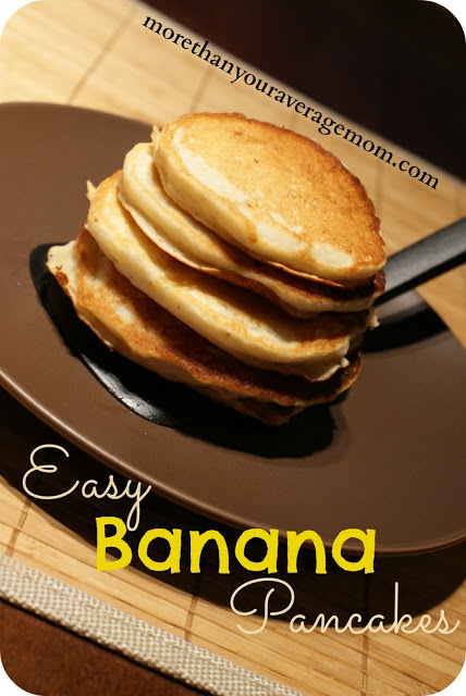 Make It} Easy Banana Pancakes for Shrove Tuesday - More Than Your ...