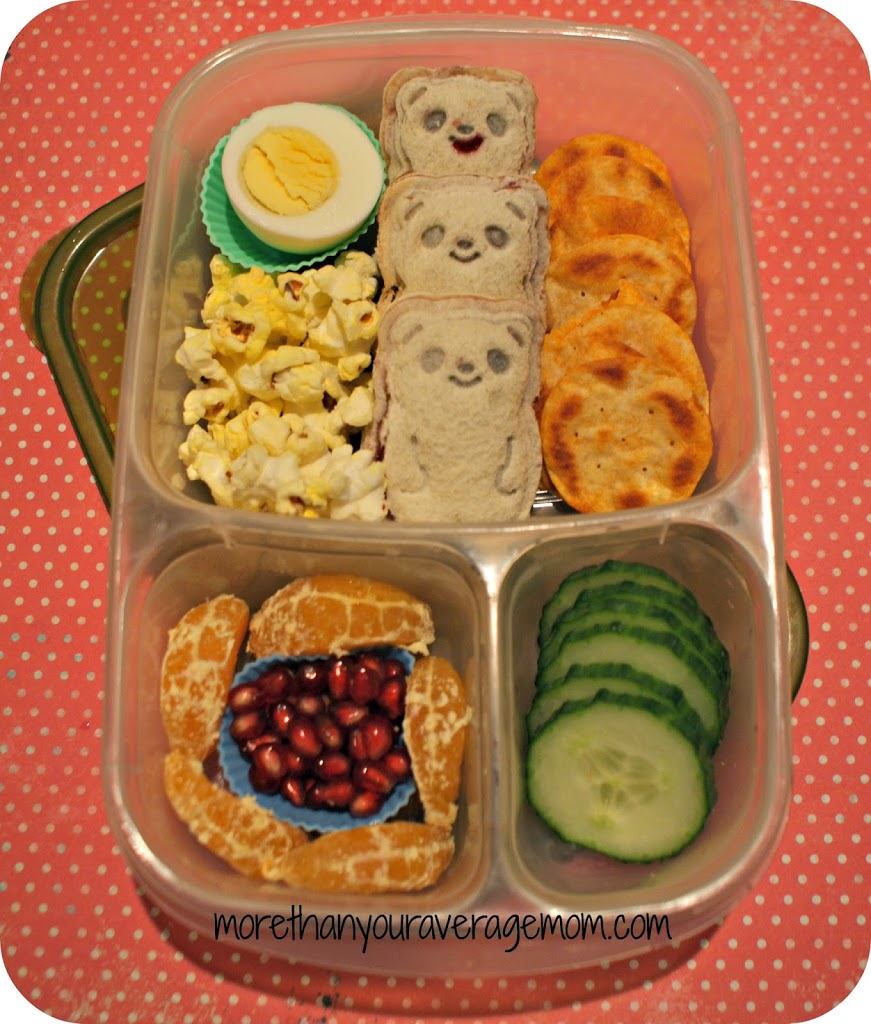 mini cutezcute panda bento lunch more than your average mom. Black Bedroom Furniture Sets. Home Design Ideas