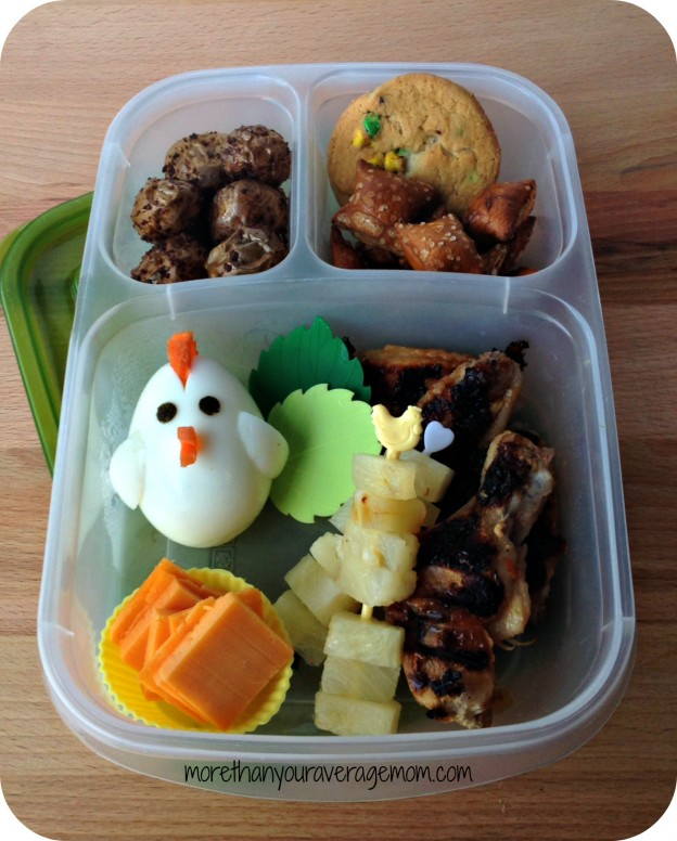 chicken egg bento